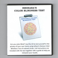 Ishihara's Color Blindness Test CD