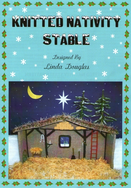 Knitting Pattern Nativity Stable : KNITTED NATIVITY STABLE KNITTING PATTERN eBay